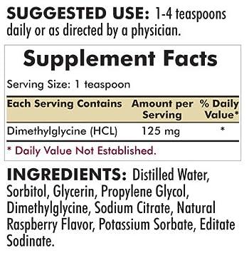 Kirkman DMG (Dimethylglycine) Liquid || 480 ml/16 oz Liquid || Free of  Common allergens || Gluten/Casein