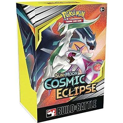 Pokemon Cosmic Eclipse Sun and Moon Build & Battle Prerelease Kit: Toys & Games