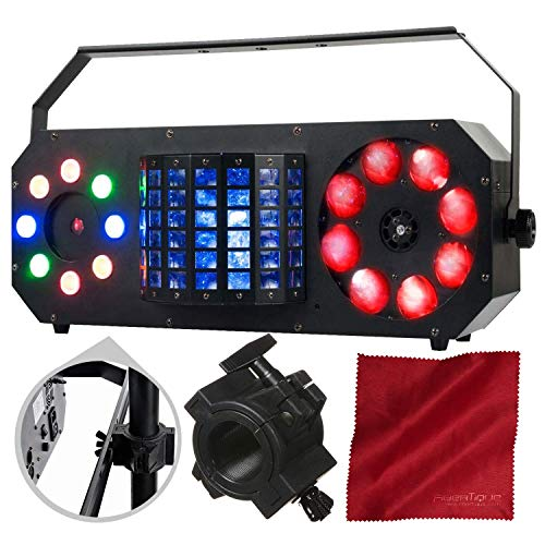(American DJ Boom Box FX2 StarTec Series Multi-Effect Light and Accessory Bundle)