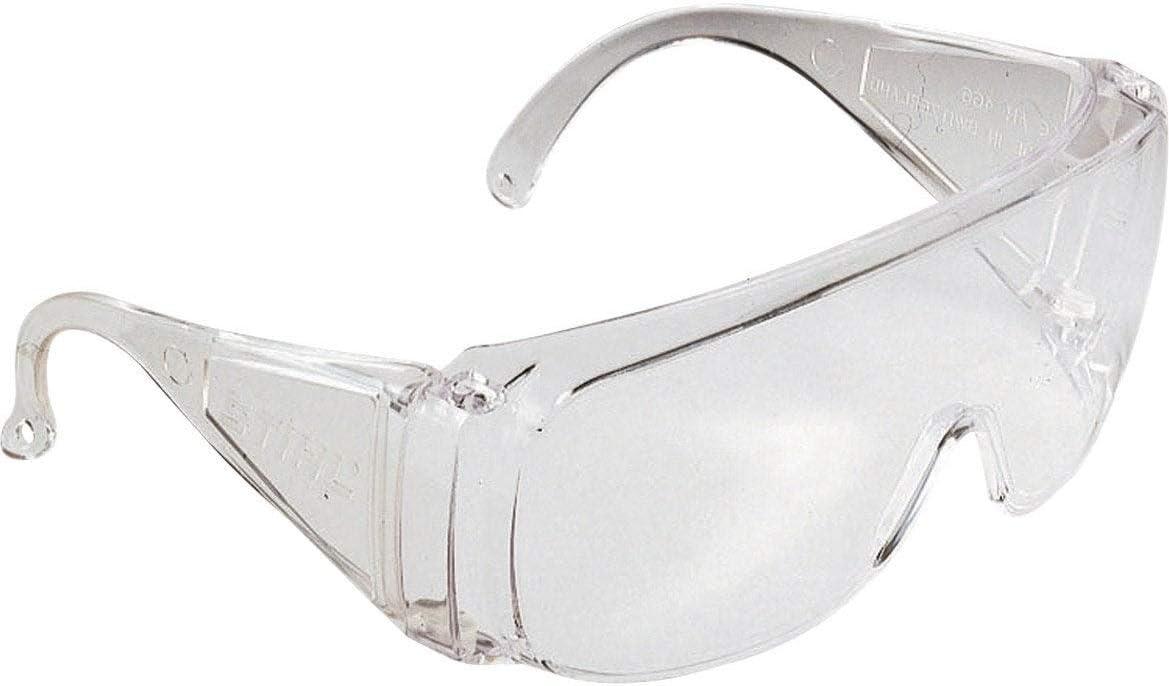 Gafas de protección conforme a la norma EN166:2001 & EN1731 – Lote de 10