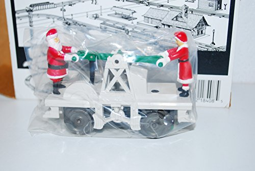 Lionel 6-18408 Santa Claus & Mrs. C operating handcar motorized Christmas by Lionel (Image #4)'
