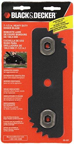 BLACK+DECKER EB-007 Edge Hog Heavy-Duty Edger Replacement Blade by Black & Decker