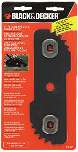 Black & Decker Replacement Blade - BLACK+DECKER EB-007 Edge Hog Heavy-Duty Edger Replacement Blade