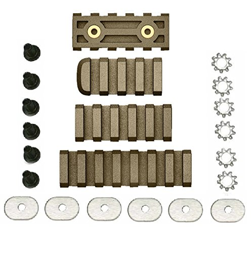 Ultimate Arms Gear LTFCR FDE Flat Dark Earth Polymer 4/5/7 Slots Combo Pack Fits M1 or PRO Mount System