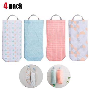 Paquete de 4 bolsas de plástico impermeables de montaje en ...