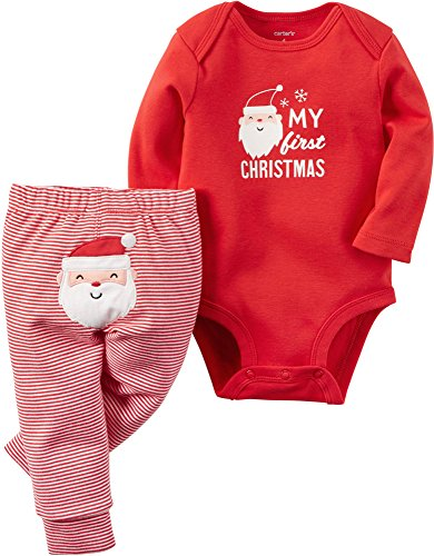 Carters 2 Piece Outfit (Carter's Baby 2-Piece Bodysuit and Pant Set,