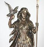 ATHENA MINERVA Greek Roman Goddess Statue Sculpture Figure Bronze Finish