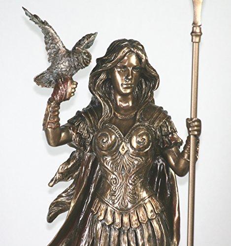 - Veronese Athena Minerva Greek Roman Goddess Statue Sculpture Figure Bronze Finish
