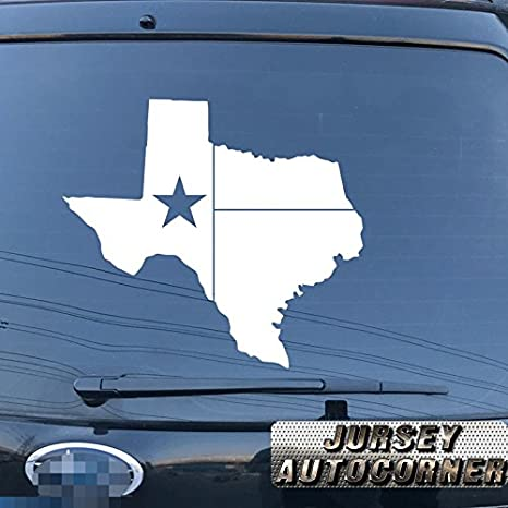 Map Flag of Texas State Outline Car Sticker Black Vinyl Decal 2/'/' 6/'/' 8/'/' 20/'/'