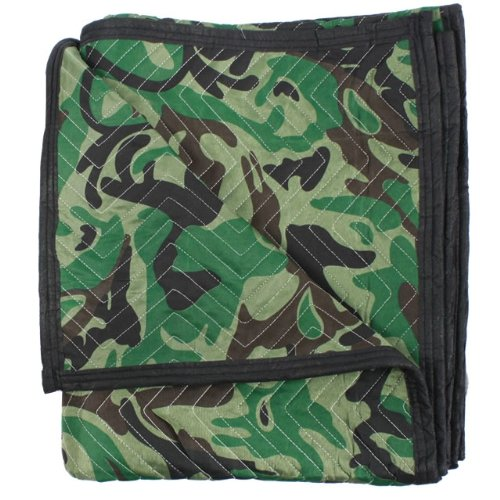 "Moving Blanket (24-Pack) 72"" X 80"" US Cargo Control - Camo (130 Lbs/2 Dozen, Camouflage) by US Cargo Control (Image #2)"