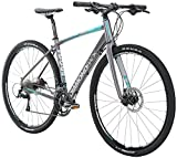 Diamondback Bicycles Women's 2016 HaanJenn Road Bike, 47cm/X-Small, Silver