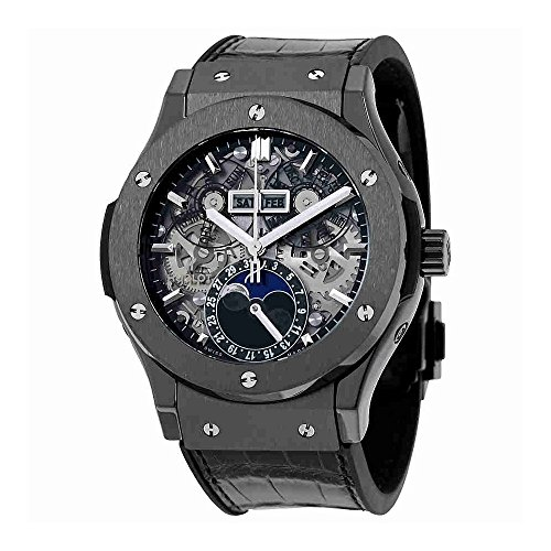 Hublot Classic Fusion Aerofusion Moonphase Ceramic Black Magic 45mm Mens Watch 517.CX.0170.LR