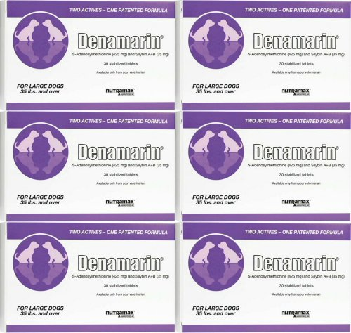 Nutramax Denamarin Tablets for Large Dogs 180ct (6 x 30ct)