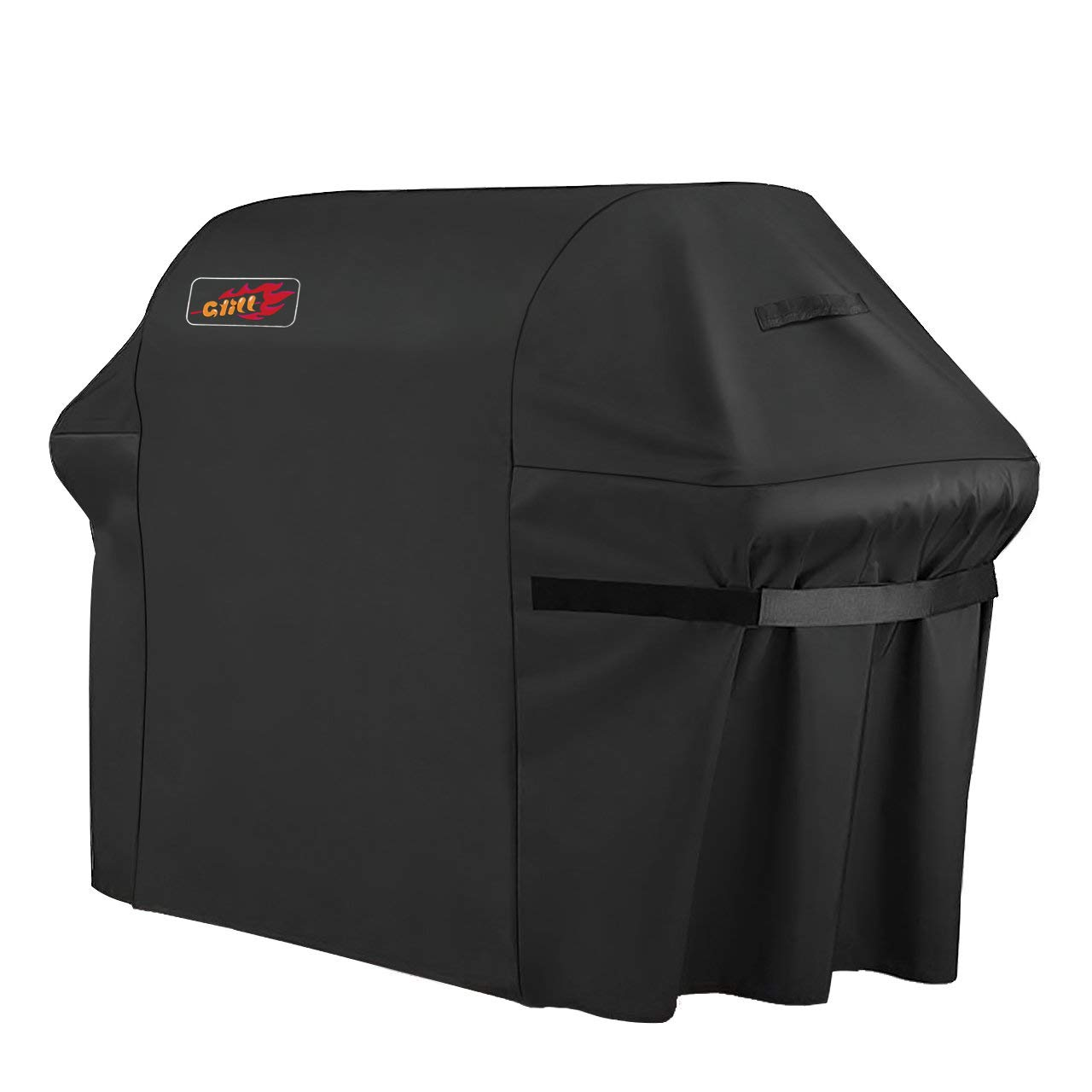 VicTsing Grill Cover, 72-Inch Waterproof BBQ Cover, 600D Heavy Duty Gas Grill Cover for weber,Brinkmann, Char Broil, Holland and Jenn Air(UV & Dust & Water Resistant, Weather Resistant, Rip Resistant) by VicTsing