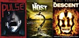 Monsters and Ghosts: A Science Fiction/Horror Modern Classics Bundle- Pulse (Kairo)/ The Descent/ The Host (Korean) DVD