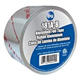 Intertape Polymer Group 5010 Aluminum Foil Tape with Liner, 2.5-Inch x 60-Yard