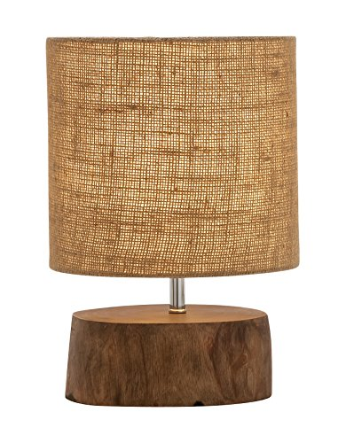 Benzara Amazing Wood Mahogany Log Lamp (Lamp Log)