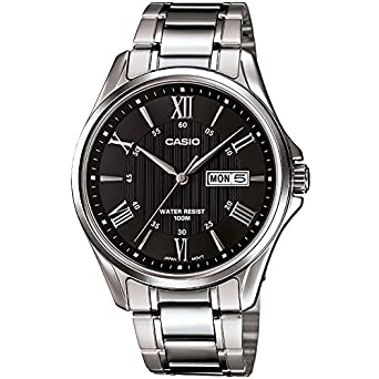 f8f05961d Casio Casual Watch Analog Display for Men MTP-1384D-1AVDF: Amazon.ae