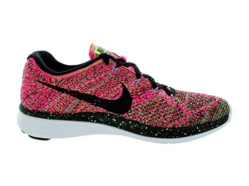 Black Green Ghost Pink Foil Black Lunar3 Flyknit Green Foil Fabric NIKE WMNS Pink Ghost Mens wUqACA