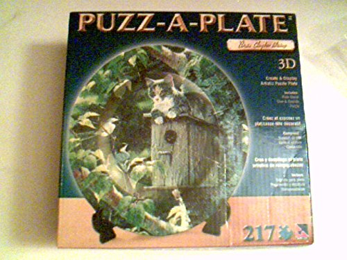 Weir Plate (Persis Clayton Weirs - Puzz-A-Plate 217 Pieces 12.25