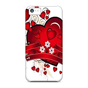 Hot Tpye Love Lonely Hearts Case Cover For Iphone 5c