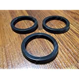 3 Rubber Gaskets Gas Can Spout Part Gott Rubbermaid Blitz Wedco Scepter Eagl