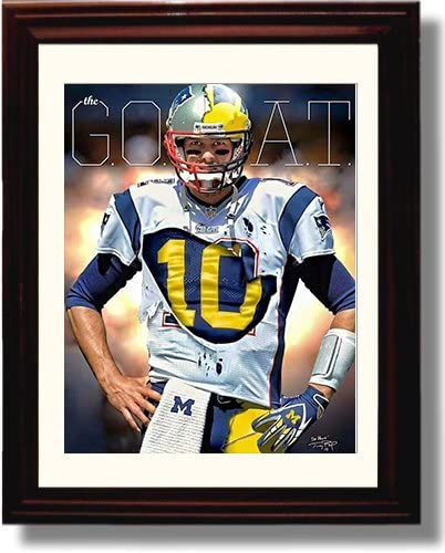 GLOSSY PHOTO PICTURE 8x10 New England Patriots Tom Brady Throwing