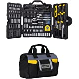 STANLEY STMT73795 Mixed Tool Set, 210-Piece w/ Tool Bag