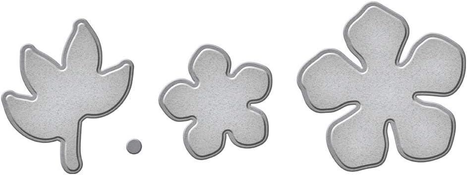 Metall Hei/ßfolien-Platte Glimmer Spellbinders GLP-127 Quadrate mit Krone