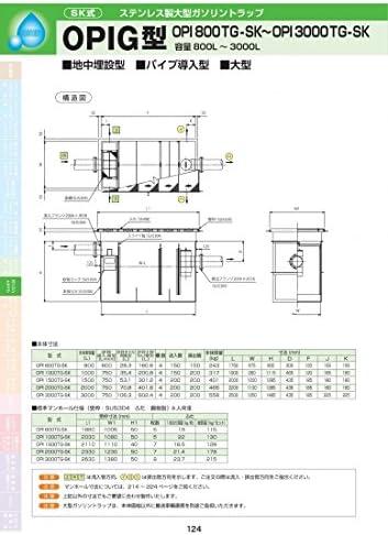 OPIG型 OPI-800TG-SK 耐荷重蓋仕様セット(マンホール枠:ステンレス / 蓋:溶融亜鉛メッキ) T-6