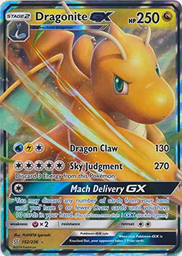 Dragonite GX - 152/236 - Ultra Rare - Unified Minds