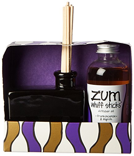 Indigo Wild Zum Whiff Set, Frankincense and Myrrh, 4 Fluid Ounce