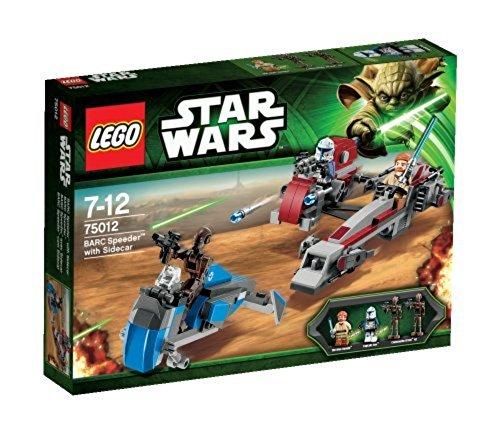 Lego Star Wars 75012 - BARC Speeder con Sidecar, Gioco di costruzioni