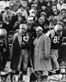 BART STARR & VINCE LOMBARDI GREEN BAY PACKERS 8X10 SPORTS ACTION PHOTO