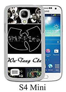 Hip-Hop Band Wu-Tang White Unique Abstract Custom Samsung Galaxy S4 Mini Case