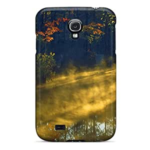 Hot New Misty With Rays Of Light Case Cover For Galaxy S4 With Perfect Design