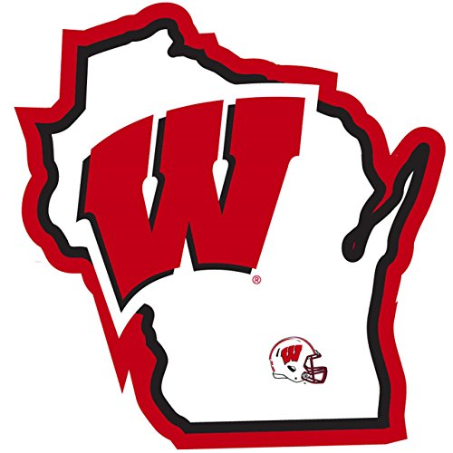wisconsin badgers auto decal - 5