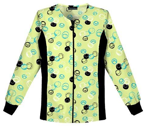 Zip Jacket & Knit Skirt - 1