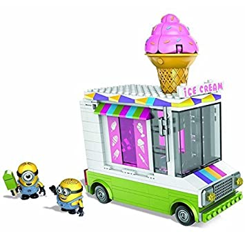 amazon mega bloks despicable me 2 minions ice cream truck メガ