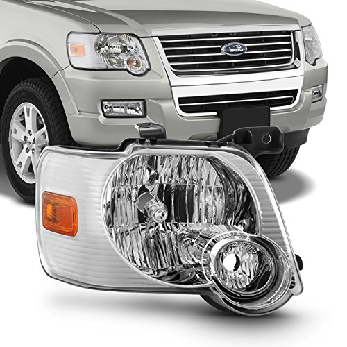 For 2006 2007 2008 2009 2010 Ford Explorer Passenger Right Side Headlight Headlamp 06 07 08 09 ()