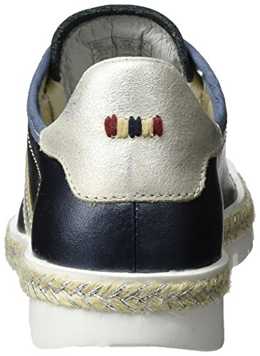 Blue Sneaker Blau Metallic Lykke Donna Napapijri Basse qUXn4