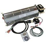 BKT GA3650T GA3650TB GA3700T GA3700TA Fireplace Blower Fan Kit for Desa FMI Vanguard Vexar Comfort Flame