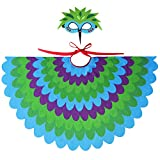 BELUPAID Children Toddler Owl Bird Wings Costumes with Bird Mask, Animal Dress up Accessories for Kids Cosplay Fancy Dress Up Party Set Pretend Play Party Favors