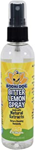 Bodhi Dog Bitter Lemon Spray | Stop Biting and Chewing for Puppies Older Dogs and Cats | Anti Chew Spray Puppy Kitten Training Treatment | 100% Non Toxic | Made in USA