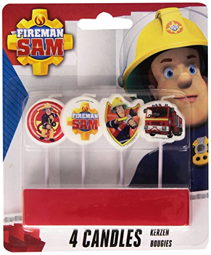 Fireman Sam Mini Pick Candles - Mini Pick Candles