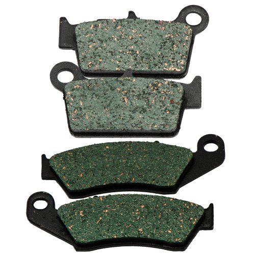 2006-2011 KAWASAKI KX 450 F Front and Rear Kevlar Carbon Brake Pads (Kawasaki 450 F compare prices)