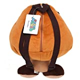 Accessory Innovations Super Mario Goomba Plush Backpack Bag