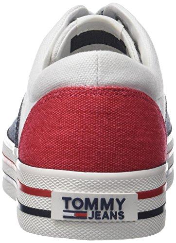 Hilfiger Denim Jeans Damer Tommy Sneaker Hvid (rwb 020) mvFHRh