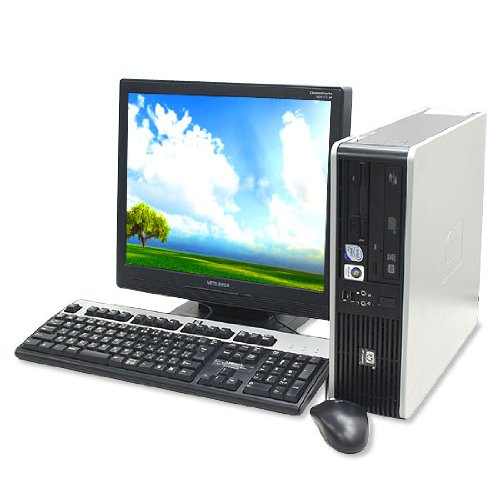【正規取扱店】 中古デスクトップパソコン +320GB dc5800SFF 2GBメモリ KingSoftOffice2012 DVD-ROM搭載 hp COMPAQ hp dc5800SFF 17型液晶セット WindowsXP KingSoftOffice2012 B009YEMIEO, ハクイグン:0758dee1 --- arbimovel.dominiotemporario.com
