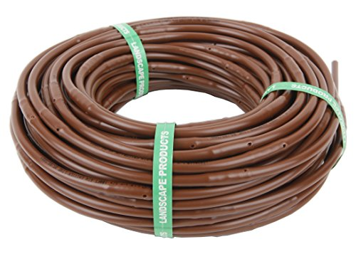 LANDSCAPE PRODUCTS PREMIER PRODUCTS FOR LANDSCAPE & AGRICULTURE 1/4 Inch Drip Emitter Tubing, 12 inch spacing - 100ft roll